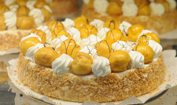 Torta bignè Pasticceria Zizzola Resana e Castelfranco Veneto